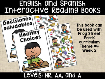 Healthy Choices Eng&Span Interactive Reading Books Can Be Used With Frog Street