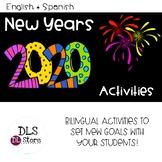 English & Spanish New Years 2020 Activities