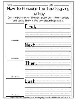 English/Spanish How to Prepare the Thanksgiving Turkey BUNDLE!