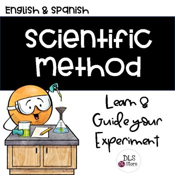 English & Spanish Scientific Method-Learn & Guide your Experiment - Science Fair
