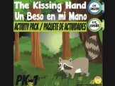 English- Spanish. The Kissing Hand Activity Pack- Un Beso