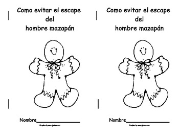 English & Spanish Version of Gingerbread Book