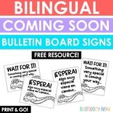 English & Spanish Work Signs!