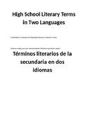 English Spanish Workbook to Accompany the Reading of Literature