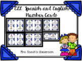 English/ Spanish number cards (0-20) alphabet cards