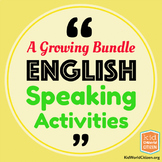 English Speaking Activities for Communication Practice ~ A