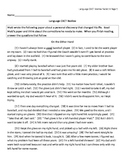 English Standardized Test Review - Dual Passage Other Hand / Jackie Robinson