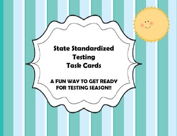 English Standarized Test Task Cards