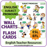 English Subject Pronouns - ESL Chart