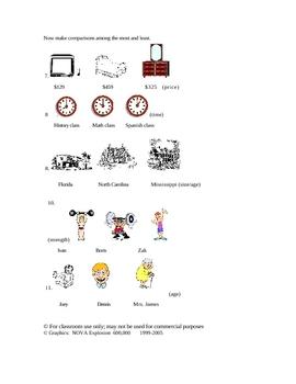 English Superlatives