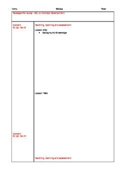 English Syllabus K-10 NSW - Unit Planning ProForma