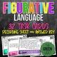 English Task Card Bundle: Rhetorical Devices, Figurative Language