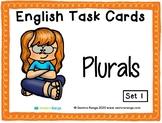 English Task Cards - Plurals 01
