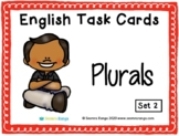 English Task Cards - Plurals 02