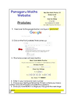 English/Te Reo Maori Maths & Writing Website Cards