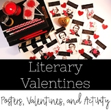 English Teacher Valentines Plus a Valentine's Day Activity for ANY Text!
