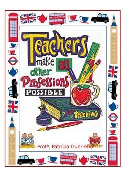 English Teacher's Binder Cover (free and editable)