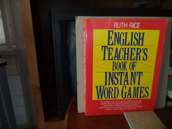 English Teachers Book of Instant Word Games ISBN#0-87628-303-2