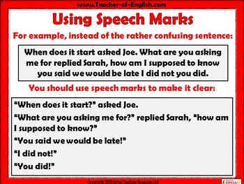 Punctuating Speech
