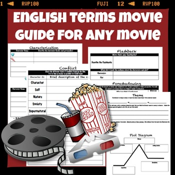 English Terms Movie Guide for ANY Movie!