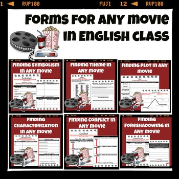 English Terms Movie Guides for ANY Movie!