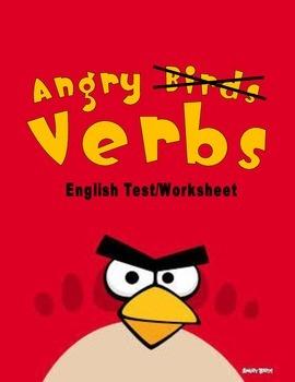 English Test: Angry Verbs