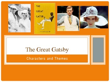 'The Great Gatsby' - Analysis, Characters and Themes