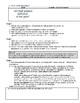 English - The Merchant of Venice - Scene Questions