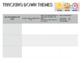 English - Themes Worksheet (generic)