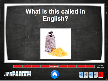 English Time - EFL/ESL Quiz Game (Jeopardy Style)