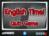 English Time - EFL/ESL Quiz Game (Jeopardy Style)