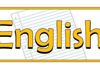 English Title Banner