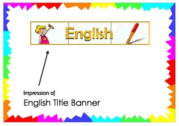 English Title Banner