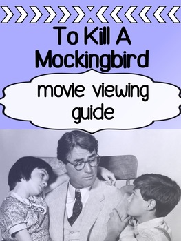 English - To Kill A Mockingbird - Movie Guide