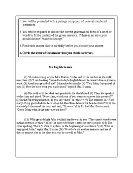 English Usage 2-5