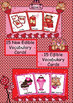 English Valentine's Day Edible and Non Edible Vocabulary Cards