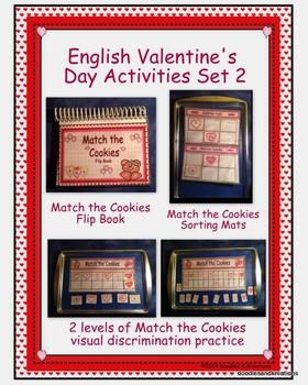 English Valentine's Day Activities Set 2