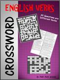 English Verbs Crossword Puzzle
