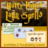 Harry Potter Latin Spells English Vocabulary Activity