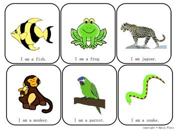 English Vocabulary Game Cards