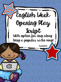 English Week Opening Play Script
