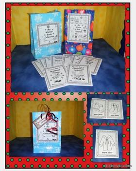 English Winter Mini Guided Reading Books