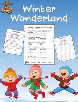 English Winter Unit Plan - Reading Comprehension, Sequenci