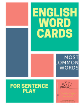 English Word Cards