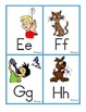 English ABC Sound Clues Word Wall Small Size