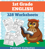 English Worksheets for First Grade (328 Worksheets)