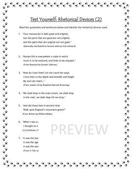 Literary Language - English Workshop Bundle 3