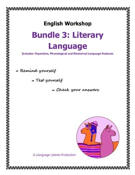 Literary Language - English Workshop Bundle 3