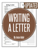 English: Writing A Letter Grades 6 - 12