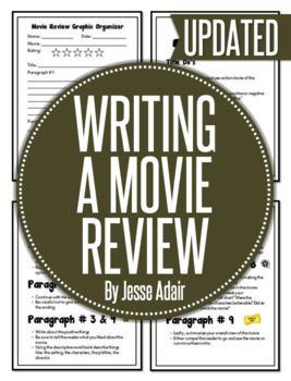 English: Writing A Movie Review Grades 6 - 12